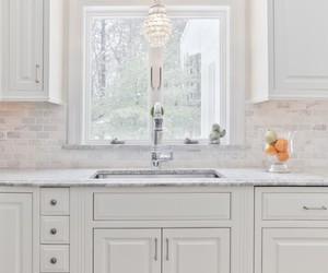 bathroom, soft color, and aluminum material image