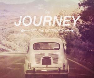 car, vintage, and journey image