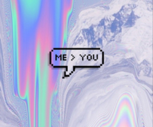 me, you, and speech bubble image