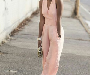 beautiful, jumpsuit, and style image
