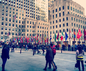 nyc and rockefeller center image