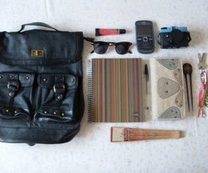 bed, keys, and in your bag image