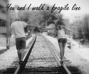 couple, fragile, and text image