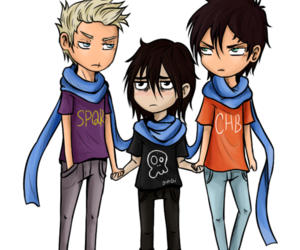 percy jackson, nico di angelo, and heroes of olympus image