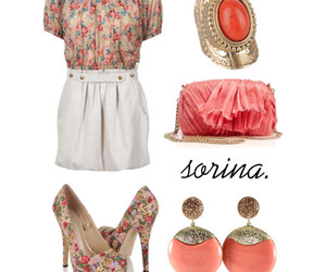 beige, earrings, and fashion image