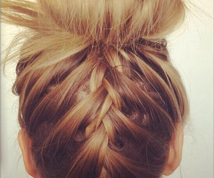 bow, diy, and hair style image