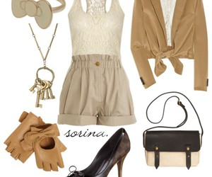 beige, brown, and cream image
