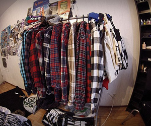 shirt, clothes, and room image