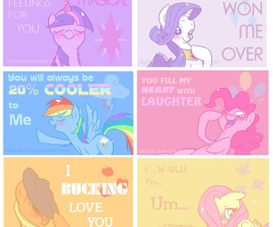 my little pony, apple jack, and fluttershy image
