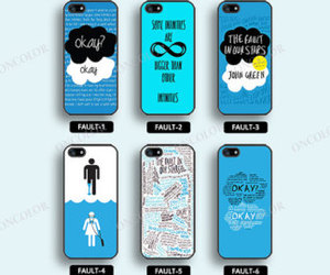 cases, iphone, and john green image