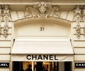 chanel, store, and luxury image