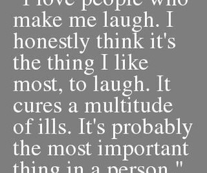 happy, laughing, and quotes image