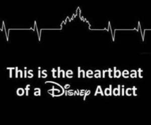 disney, heartbeat, and addict image