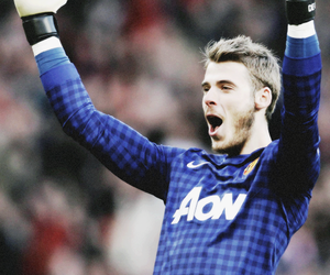 manchester united, red devils, and david de gea image