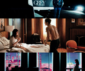 christian grey, fifty shades of grey, and 50 sombras de grey image