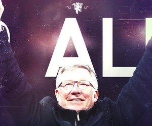 manchester united, red devils, and sir alex ferguson image