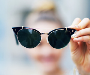 fashion, sunglasses, and style image