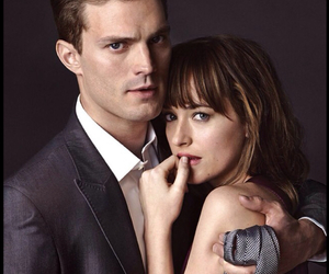 christian grey, fifty shades of grey, and love image