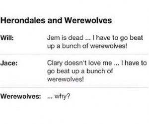 funny, jem, and werewolf image
