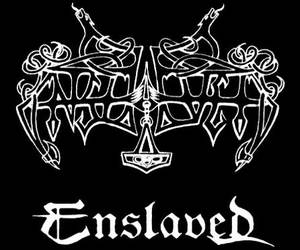 black and white, death, and Enslaved image
