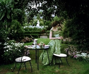 dining, fashion, and garden image