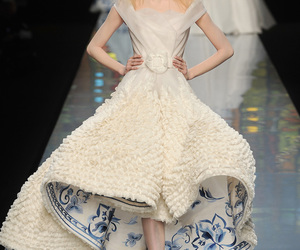 Christian Dior and dress image