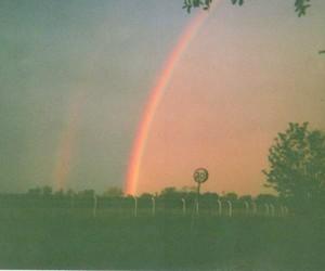 rainbow, vintage, and indie image