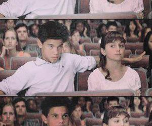 couple, hipster, and Taylor Lautner image