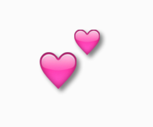heart, transparent, and emoji image