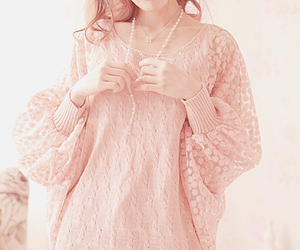 kfashion, pink, and cute image