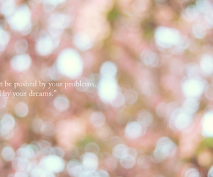 dreams, pink, and problems image