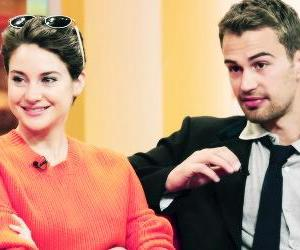 divergent, couple, and sheo image