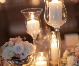 candles and roses image