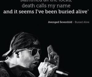 a7x, avenged sevenfold, and buried alive image