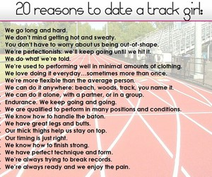 dating, reasons, and sports image