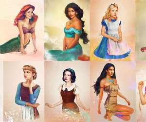 alice, ariel, and belle image