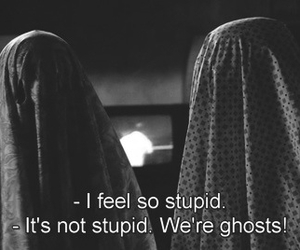 ghost, stupid, and grunge image