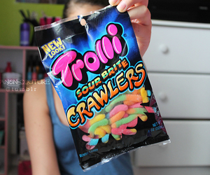 trolli, photography, and candy image