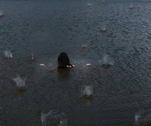 rain, water, and sea image