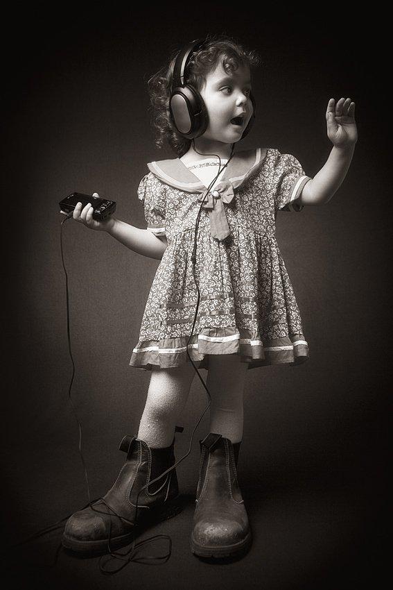 headphones, music, and listen image
