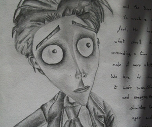 art, corpse bride, and drawing image
