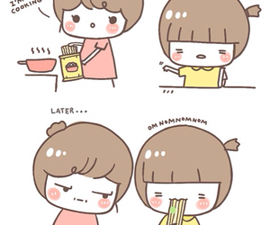 cute, funny, and food image