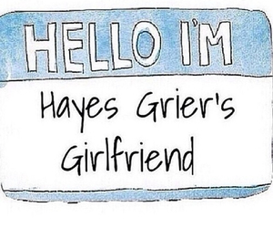 hayes grier and hayes girlfriend image