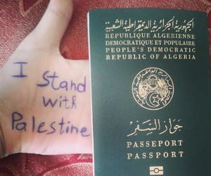 Algeria, peace, and passeport image