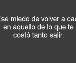 frases, miedo, and love image