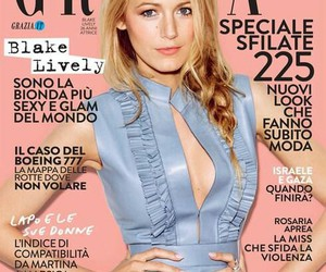 August, blake lively, and cover image