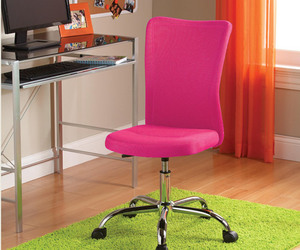 desk chairs, desk chair, and pink desk chair image