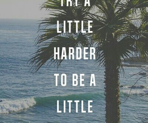 quote, try, and beach image