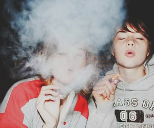 cigarette, indie, and grunge image