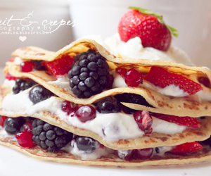 crepes, dessert, and food image